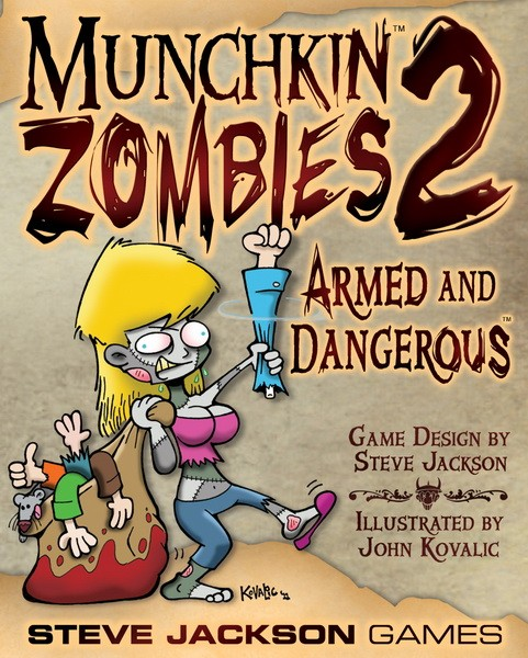 Munchkin Zombies: Armed and Dangerous