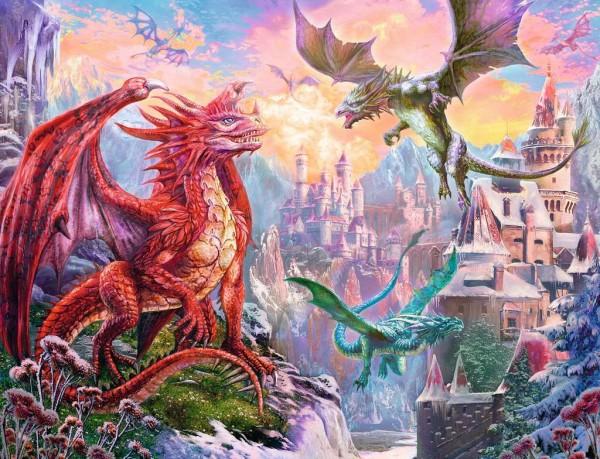 Puzzle: Fantasy Dragon (2000 Teile)