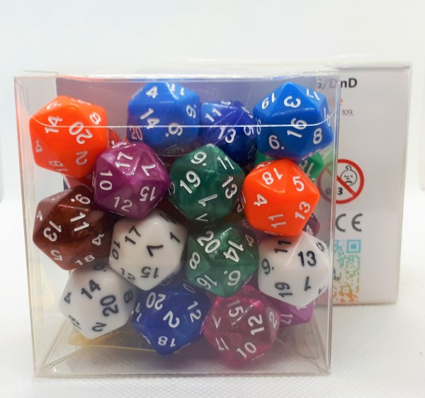 Würfelset D20 Mix-Set (25)