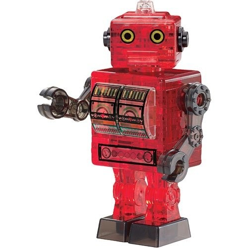 Crystal Puzzle: Roboter (rot)