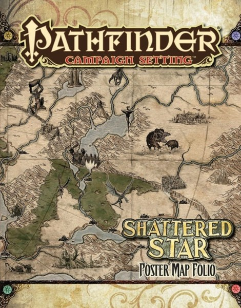 Pathfinder: Campaign - Shattered Star Poster