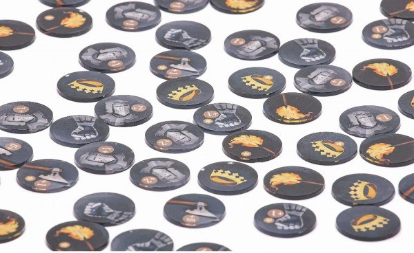 Token and Markers: Game of Thrones Tokens Set