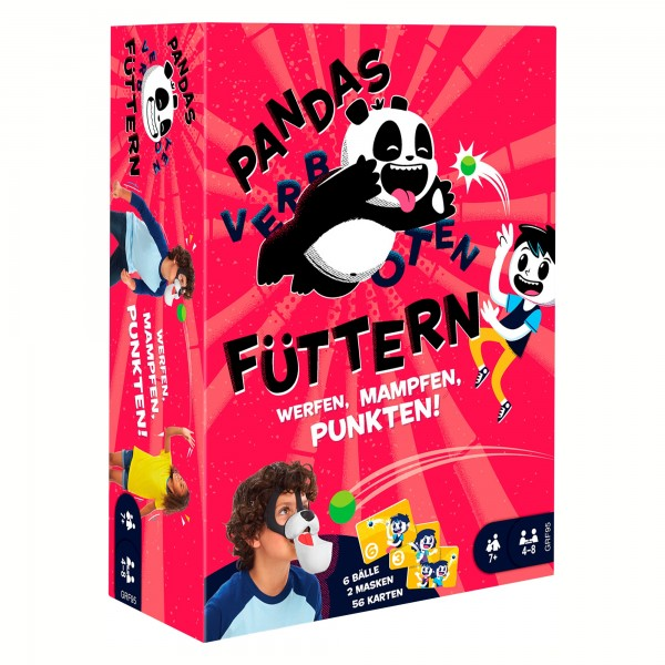 Pandas Füttern (verboten)