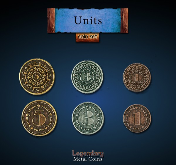 Units Coin Set (30 Stück)