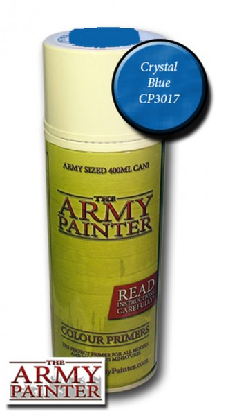 Army Painter Primer: Crystal Blue (400ml)