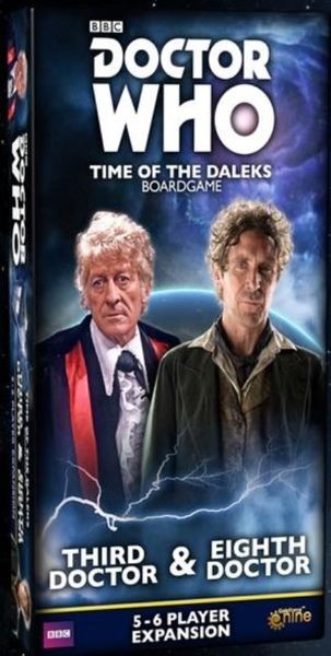 Doctor Who: Time of the Daleks 3rd & 8th Doctors Expansion