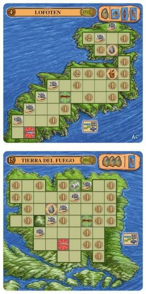 Ein Fest für Odin: 2 Inseln [Mini Erweiterung I ]