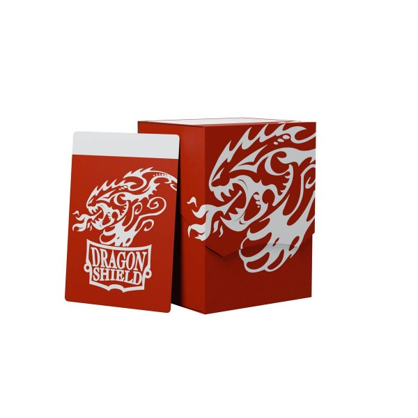 Dragon Shield: Deck Shell 100+: Red/Black