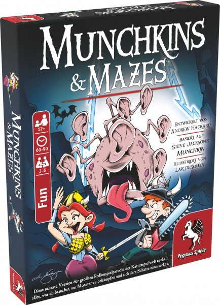 Munchkin & Mazes