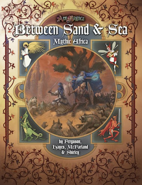Ars Magica: Mythic Africa - Between Sand & Sea