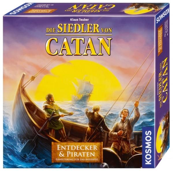 Catan: Entdecker & Piraten 2-4 Spieler [Erweiterung] *Neu*