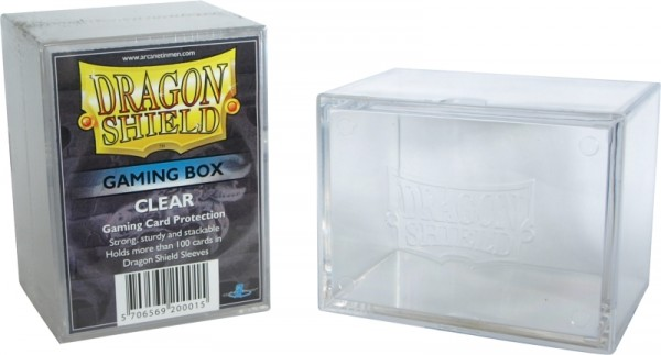 Dragon Shield: Gaming Box - Strong Box 100+: Clear