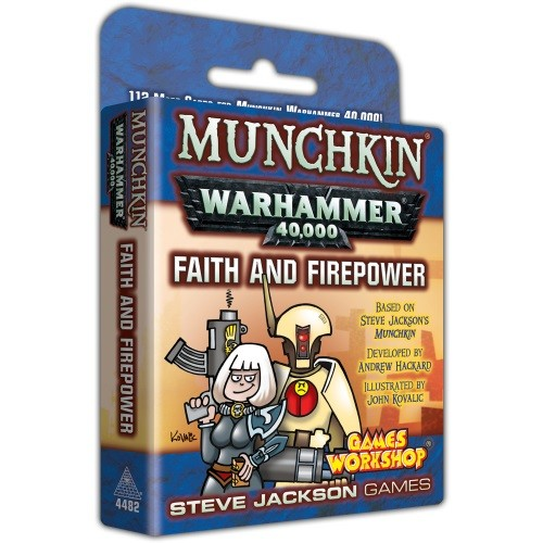 Munchkin Warhammer 40k: Faith and Firepower