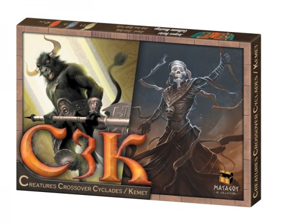 C3K - Creature Crossover Cyclades Kemet [Mini-Expansion]