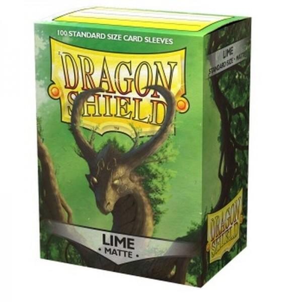Dragon Shield: Matte – Lime (100)