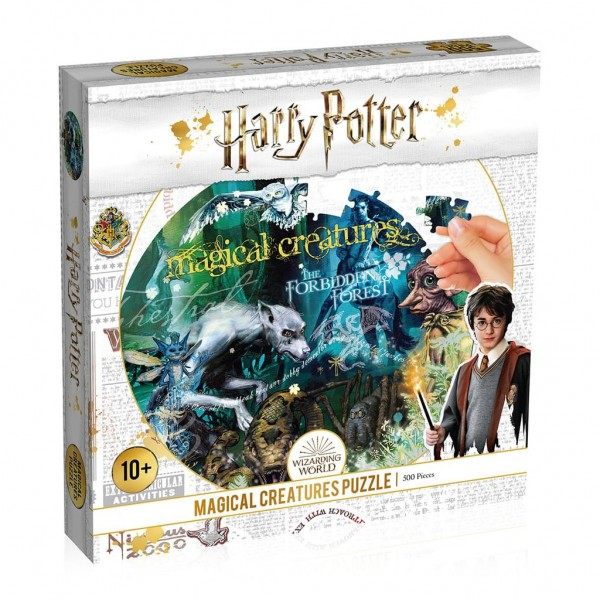 Puzzle: Harry Potter Magical Creature (500 Teile) White