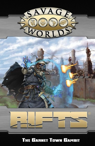 Rifts: Savage GM Screen & Adventure (Revised)