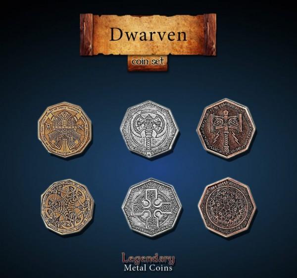 Dwarven Coin Set (24 Stück)