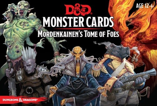 Dungeons & Dragons: Monster Cards - Mordenkainen's Tome of Foes (109 cards)
