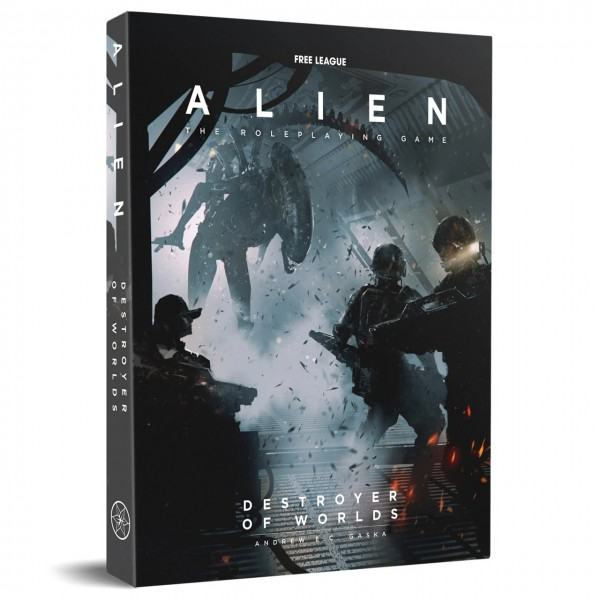 ALIEN Role Play Game - Destroyer of the world