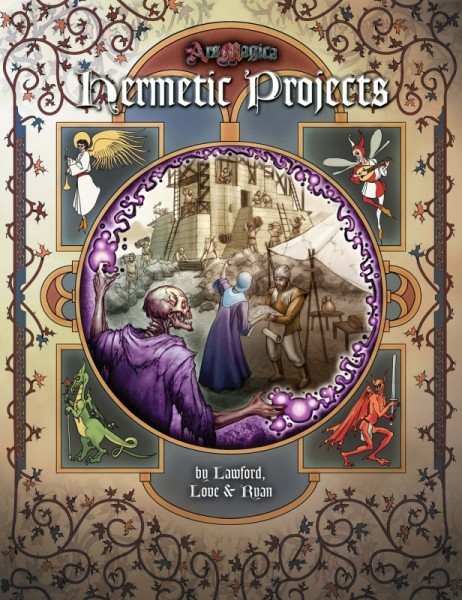 Ars Magica: Hermetic Projects