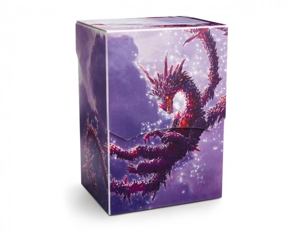 Dragon Shield: Deck Shell – Clear Purple: Dragon Racan *limitedt*