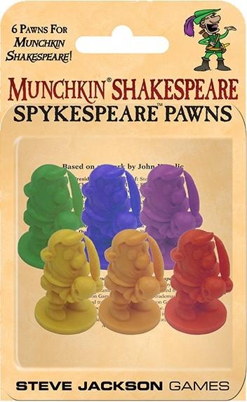 Munchkin Shakespeare Spykespeare Pawns