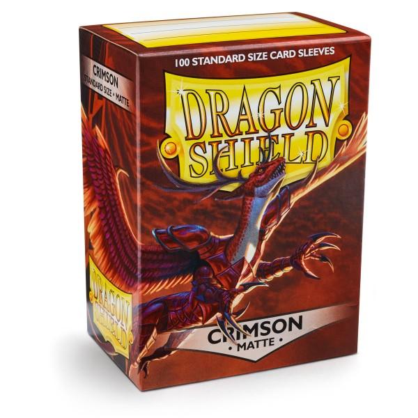 Dragon Shield: Matte – Crimson (100)