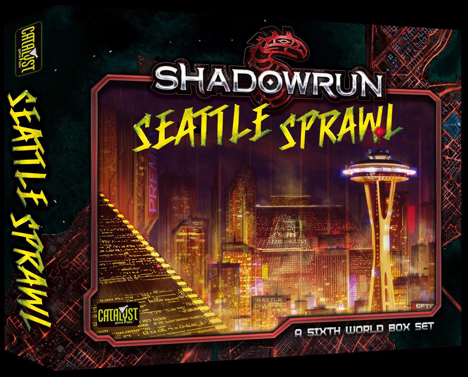 Shadowrun Seattle Box