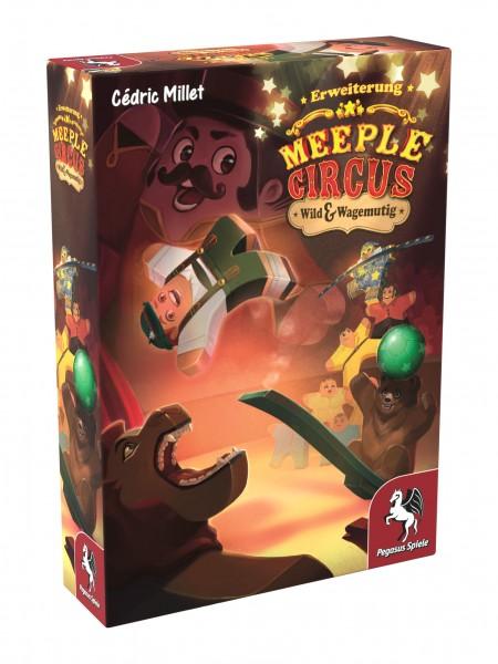 Meeple Circus: Wild & Wagemutig [Erweiterung]