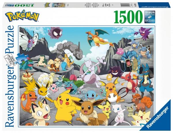 Puzzle: Pokémon Classics (1500 Teile)