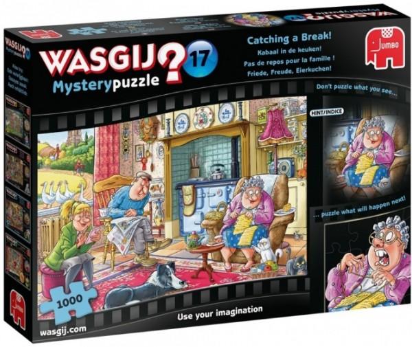 Wasgij Mystery 17: Friede, Freude, Eierkuchen(1000 Teile)