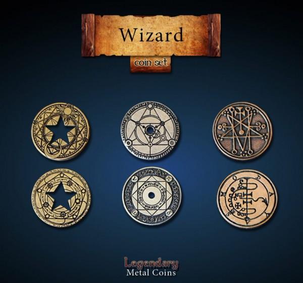 Wizard Coin Set (24 Stück)