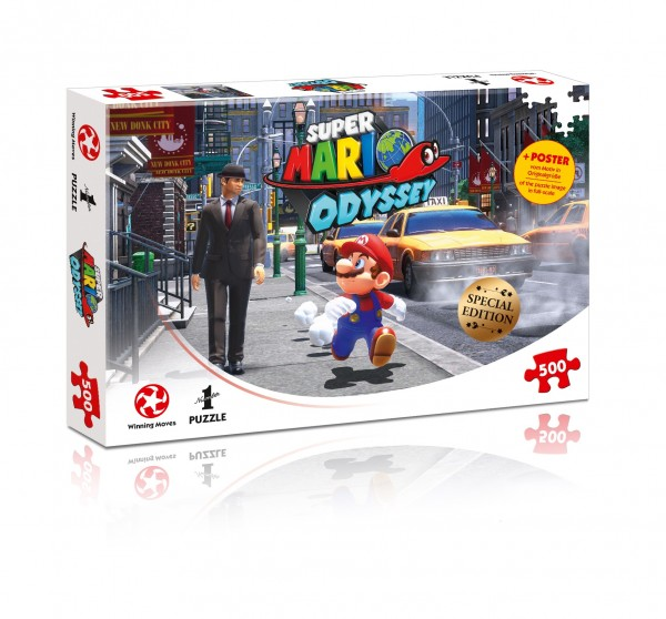 Puzzle: Super Mario Odyssey New Donk City (500 Teile)