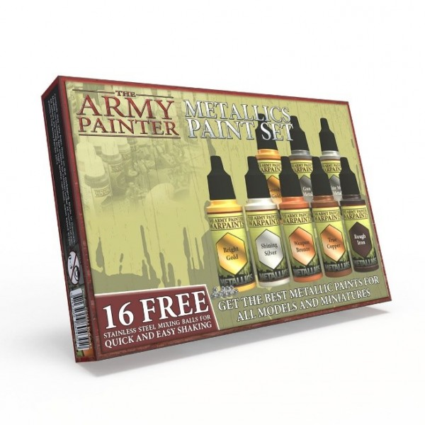 Army Painter - Metallic Paint Set