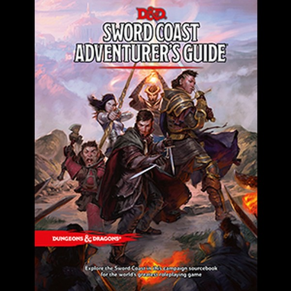 Dungeons & Dragons: Sword Coast Adventure Guide (Hardcover)