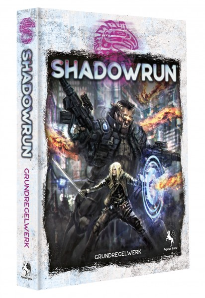 Shadowrun: Grundregelwerk, 6. Edition (Hardcover)