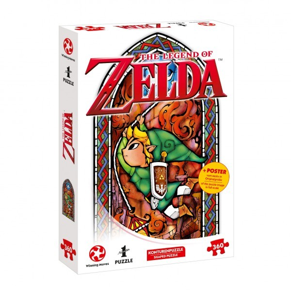 Puzzle: Zelda Link–Adventurer (360 Teile)