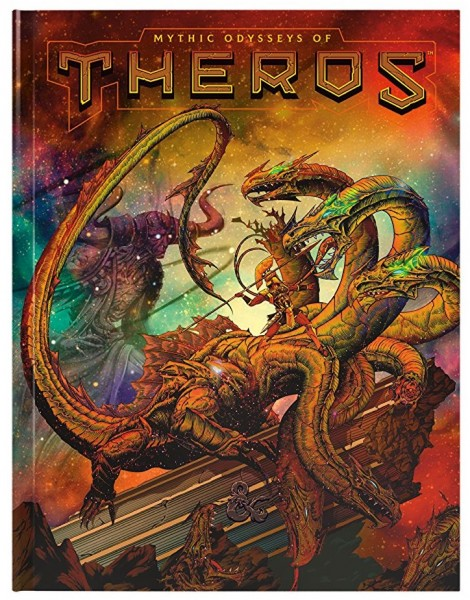 D&D: RPG Adventure Mythic Odysseys of Theros (Alternate Cover)