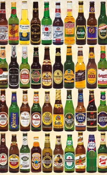 Puzzle: Bier ( 1000 Teile)