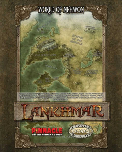Lankhmar: City of Thieves Map