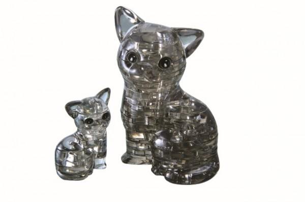 Crystal Puzzle: Katzenpaar