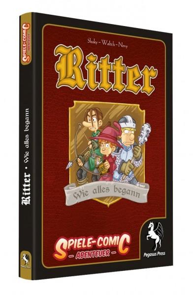 Spiele-Comic Abenteuer: Ritter - Wie alles begann (Hardcover)