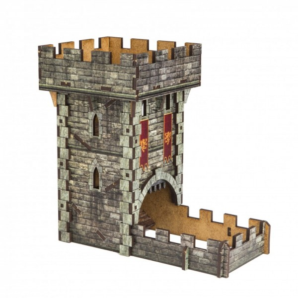 Dice Towers: Color Dice Tower