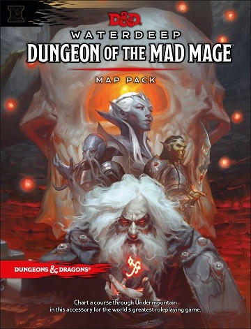 D&D: RPG Waterdeep Dungeon of the Mad Mage - Maps & Miscellany