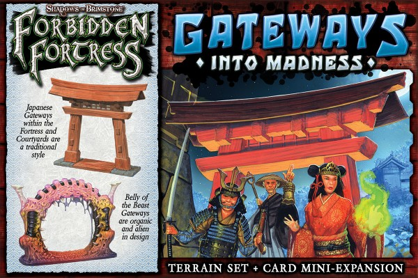 Shadows of Brimstone: Gateways into Madness [Expansion]