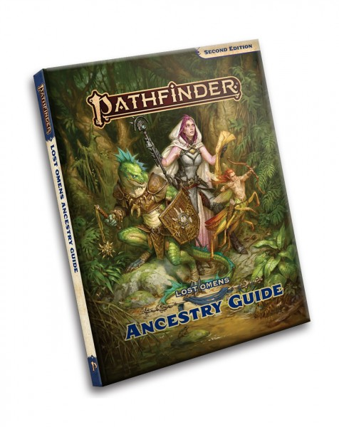 Pathfinder 2.0: Lost Omens Pathfinder Ancestry Guide