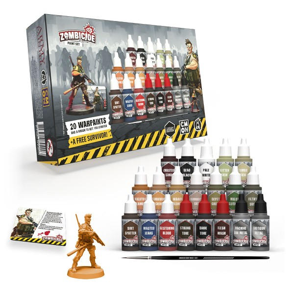 Army Painter - Zombicide 2nd Ed. Paint Set