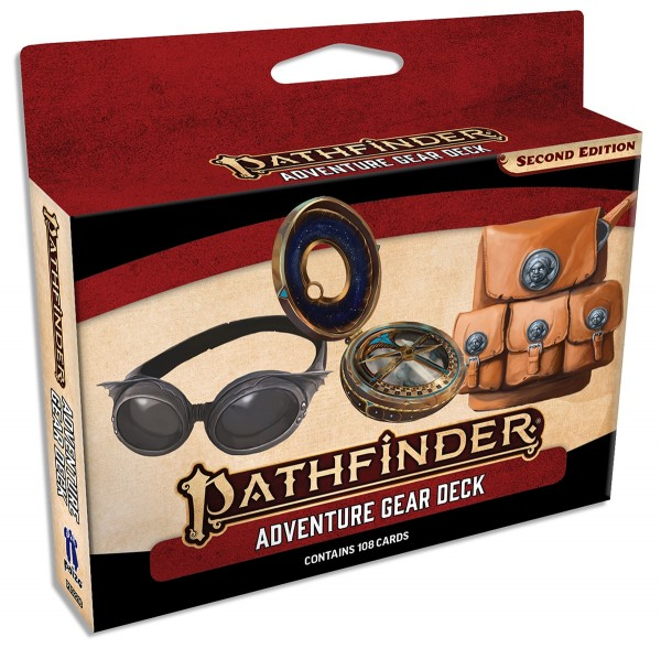 Pathfinder 2.0 Adventure Gear Deck