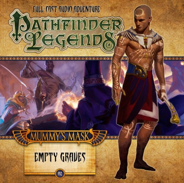 Pathfinder Legends: Empty Graves (Audio-CD)